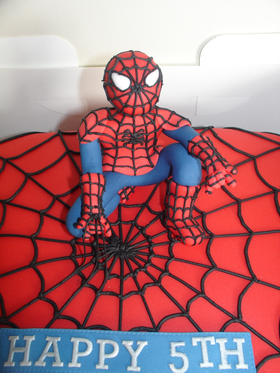 Spiderman Cake Fondant