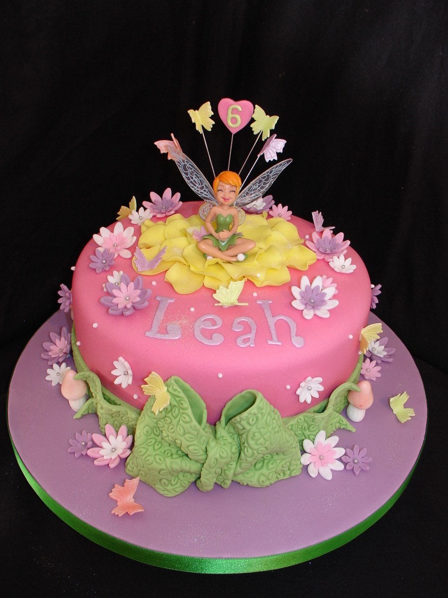 Tinkerbell Birthday Cakes Designs