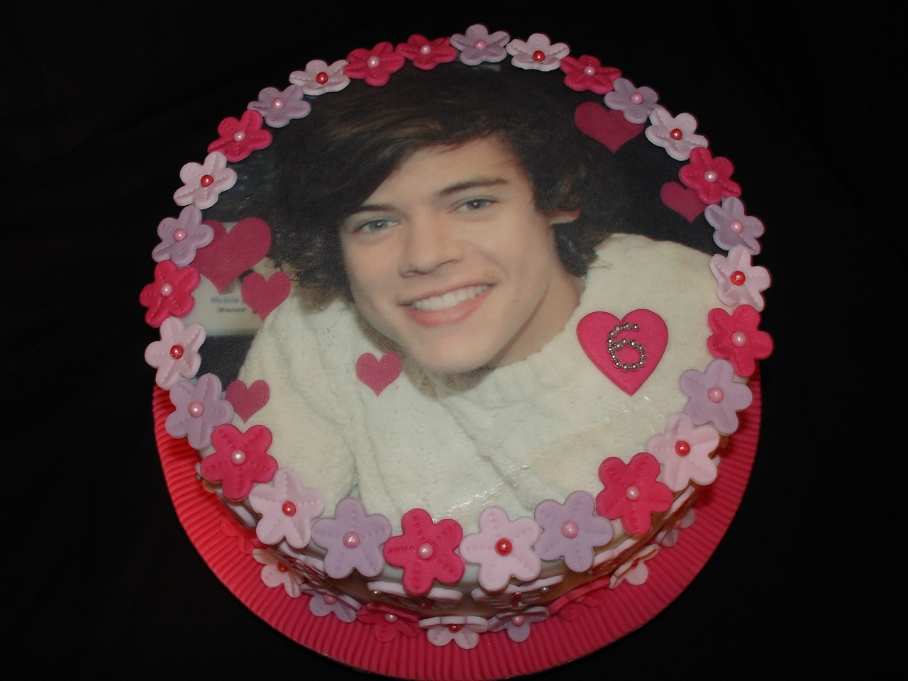 One Direction Harry Styles Fondant Cake Cakecentral Com