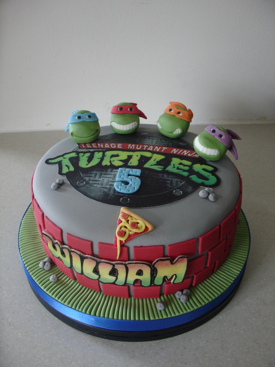 ninja turtles cakes images