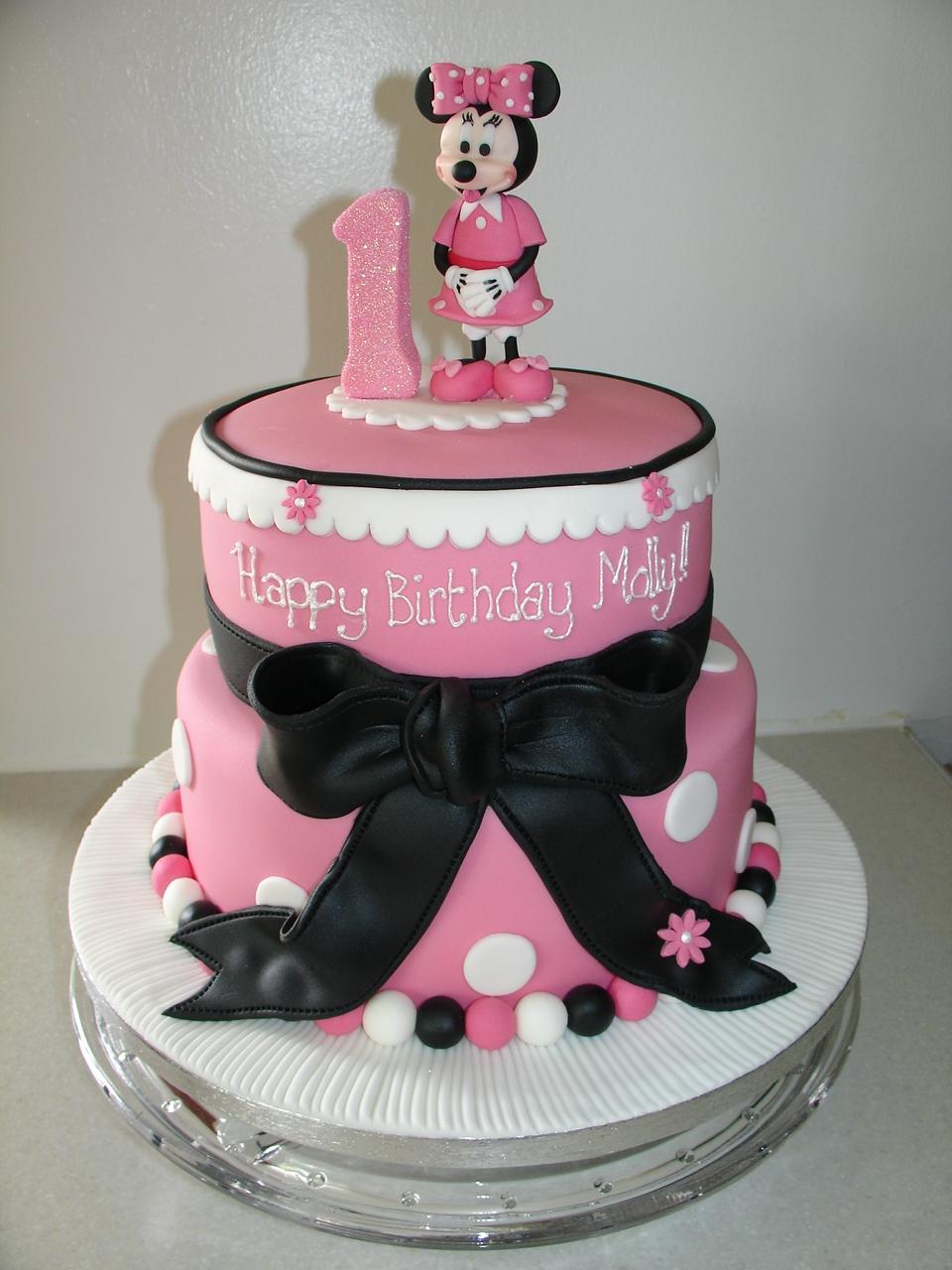 Minnie Mouse Fondant Cake Recipe
