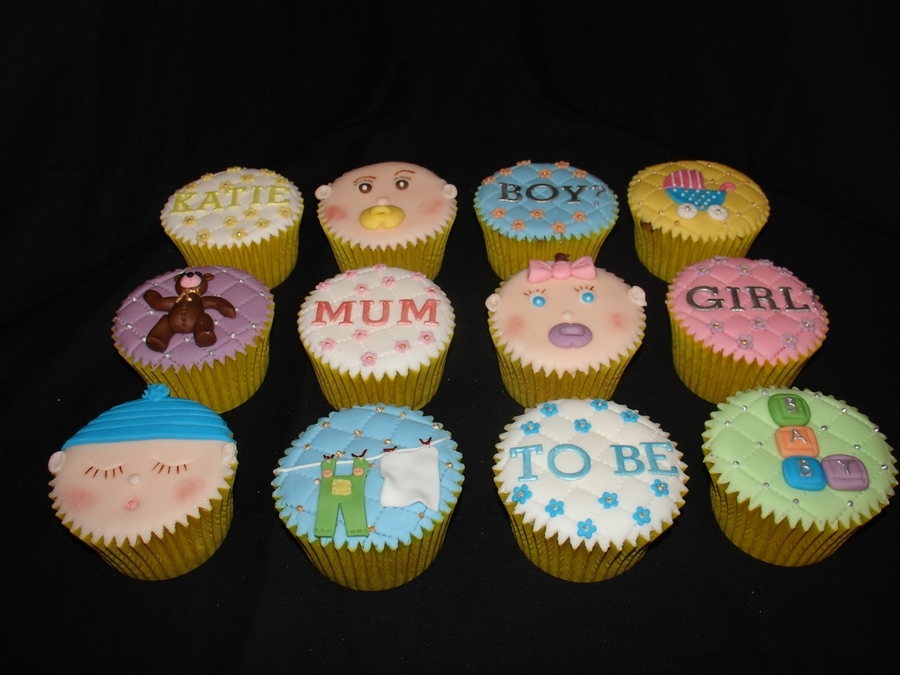 mum to be baby shower cupcakes cakecentralcom