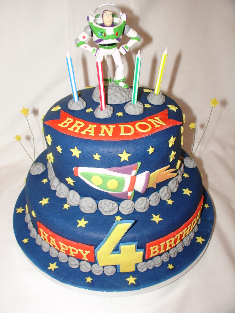 Woody And Buzz Birthday Cake