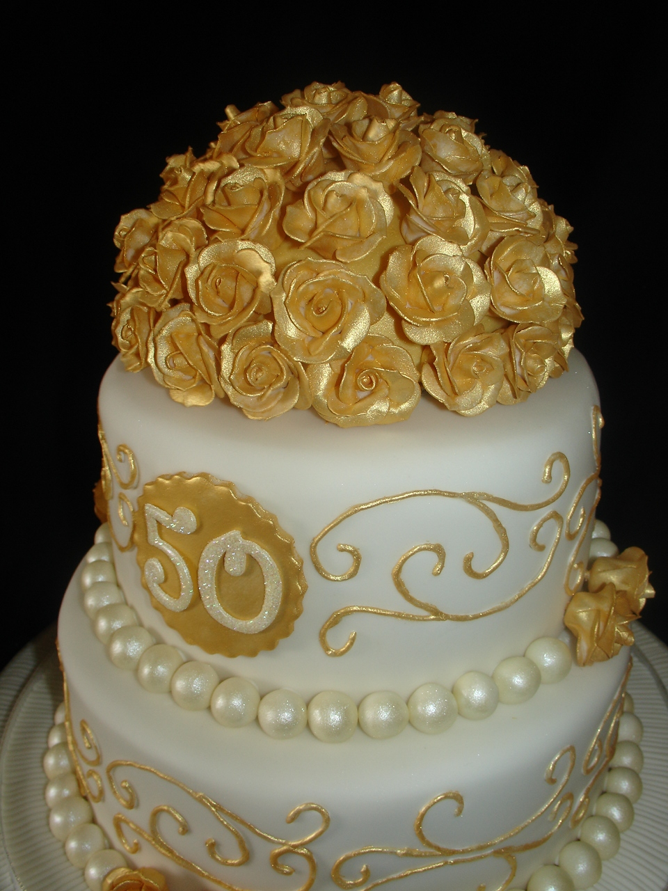 Golden Wedding Anniversary Cake Recipes