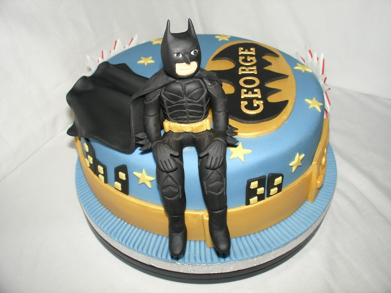 Batman The Dark Knight Fondant Cake Cakecentral Com