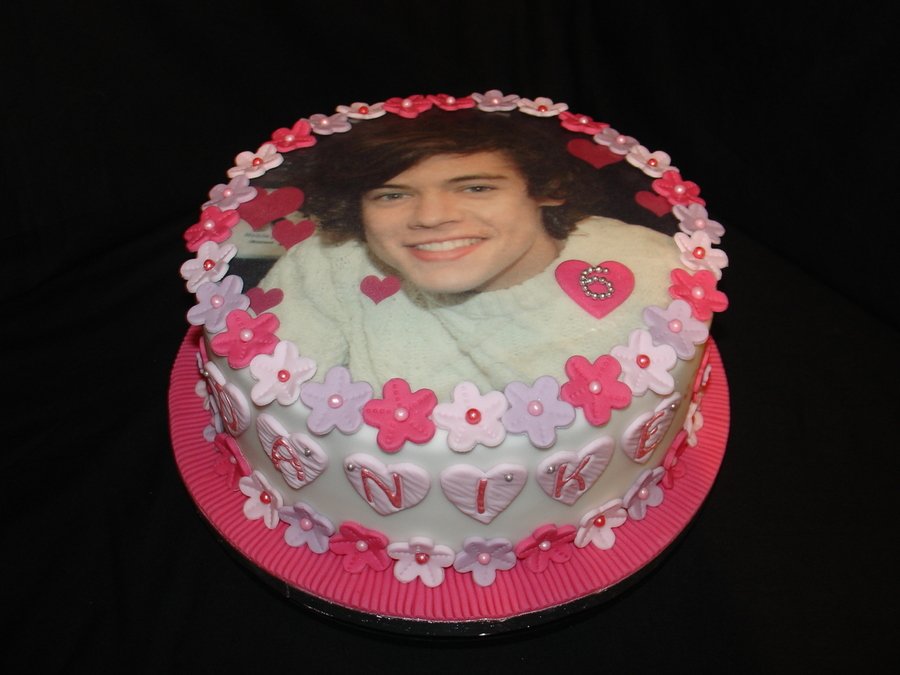 One Direction Cake Recipe