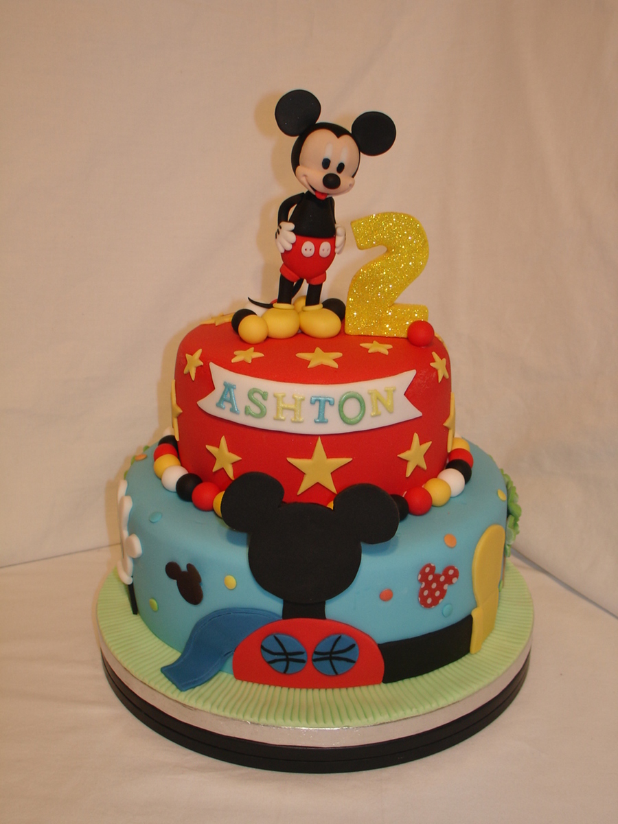 Mickey Mouse Cream Cake Images : Mickey Mouse Clubhouse Fondant Cake - CakeCentral.com