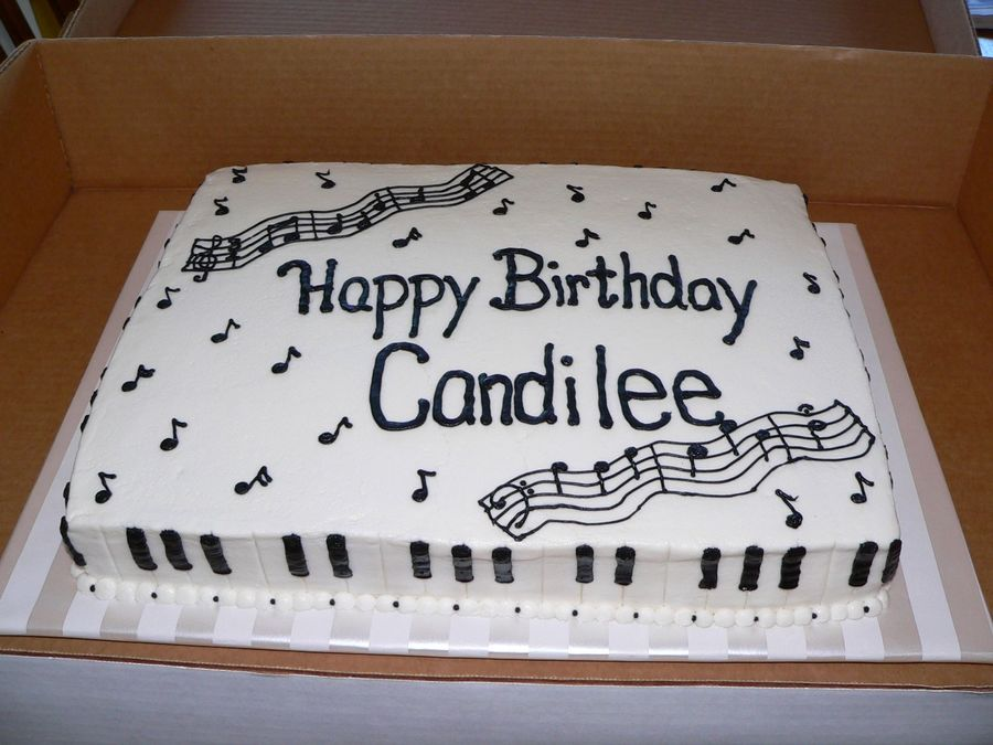 Piano Birthday on Cake Central