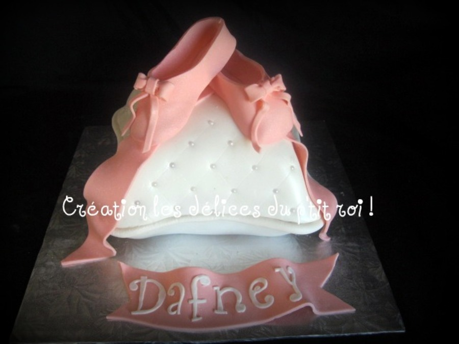 Ballet Slipper on Cake Central