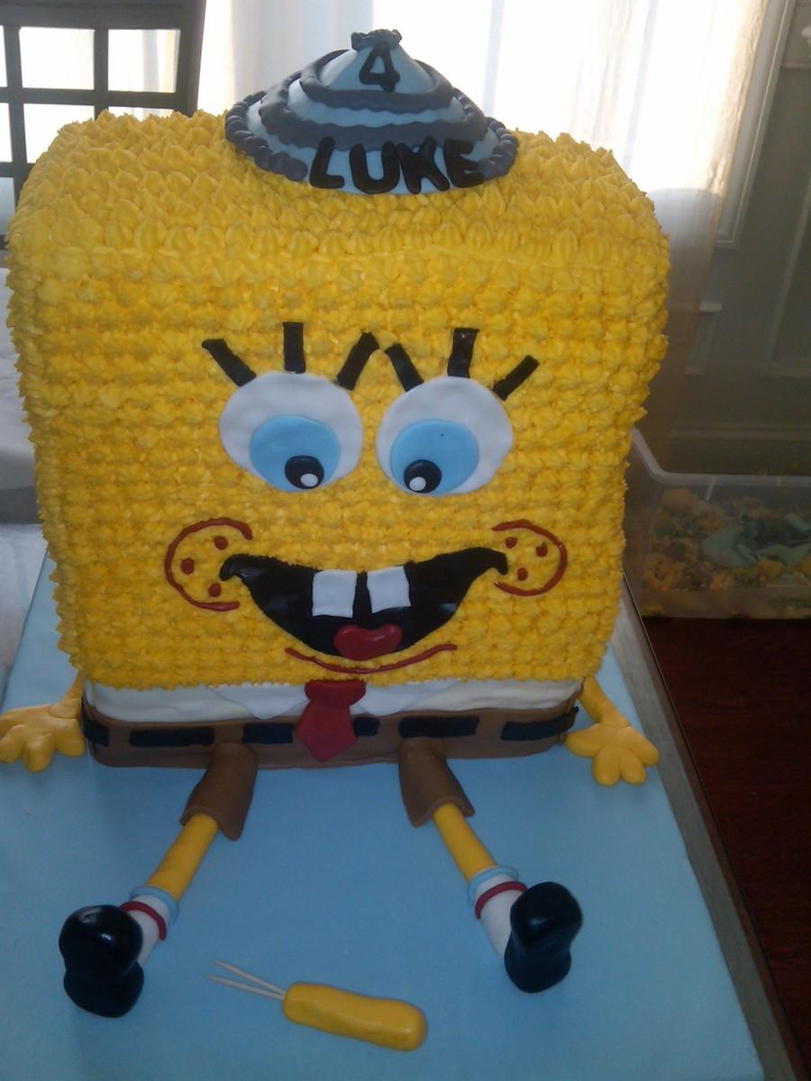 Spongebob Cake Aagin Cakecentralcom