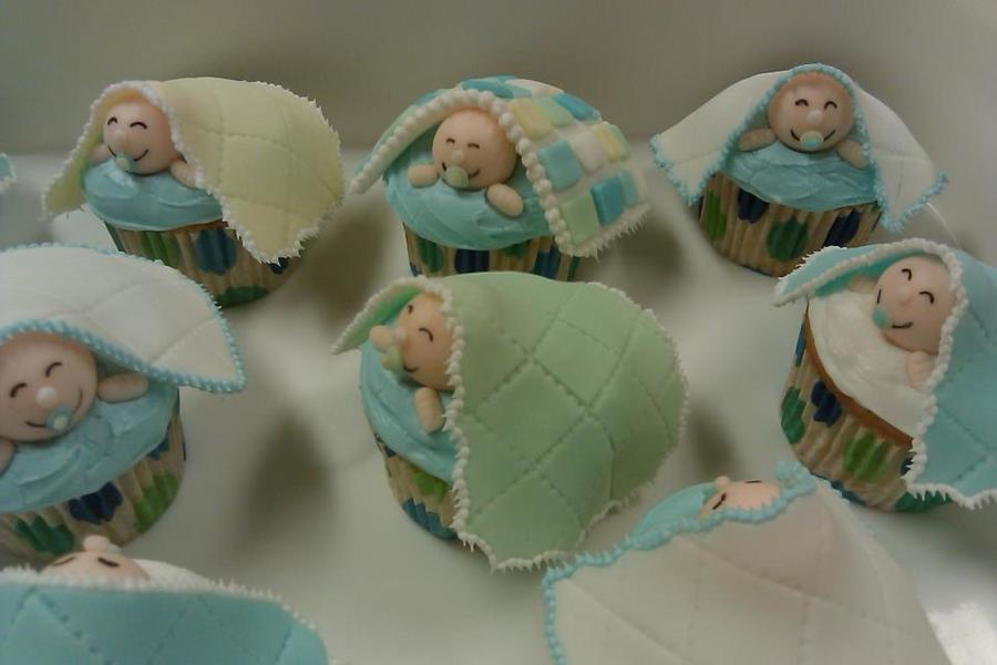 Made These For A Baby Shower Pretty Easy And So Cute Thanks For Looking on Cake Central