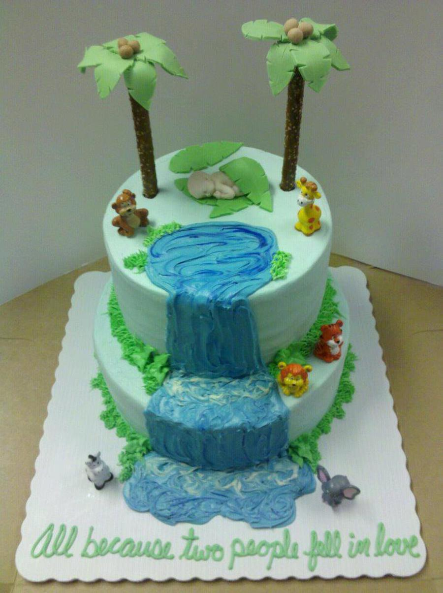 Everything Is Edible Except The Little Animals Im Not That Talented Yet Lol Thanks For Looking on Cake Central