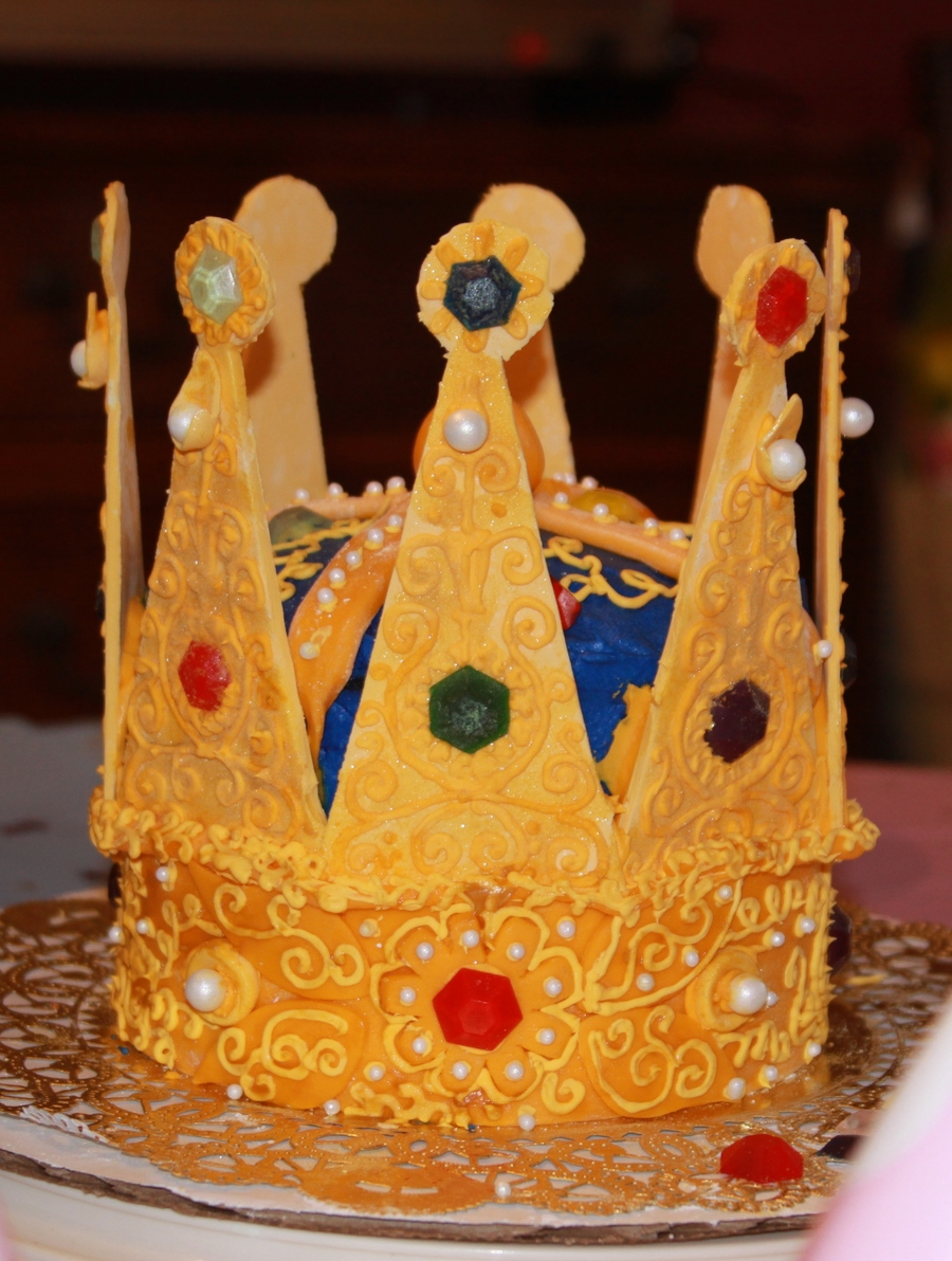 Crown Birthday Cake Recipe