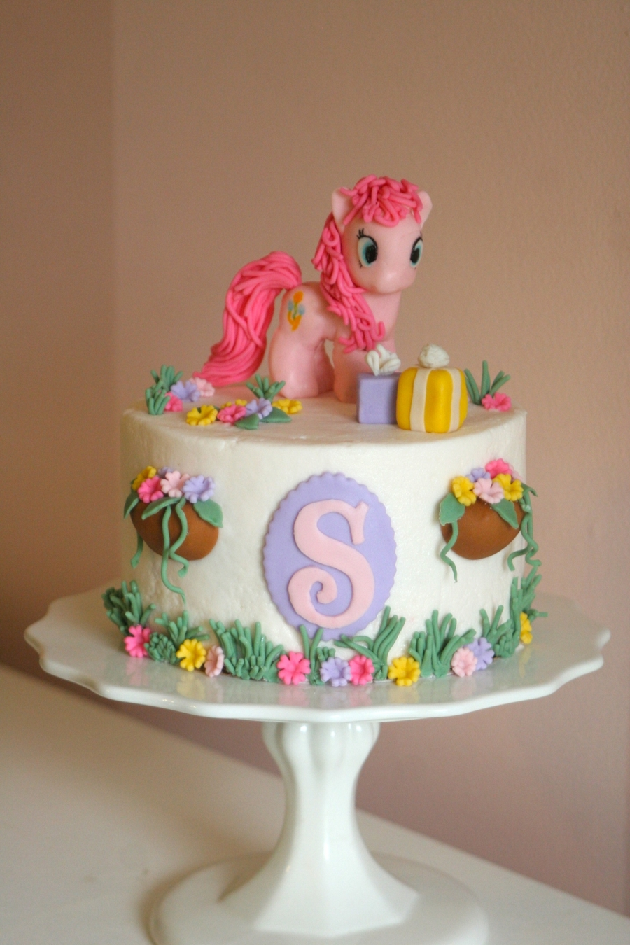 My Little Pony Cake With Pinkie Pie CakeCentralcom