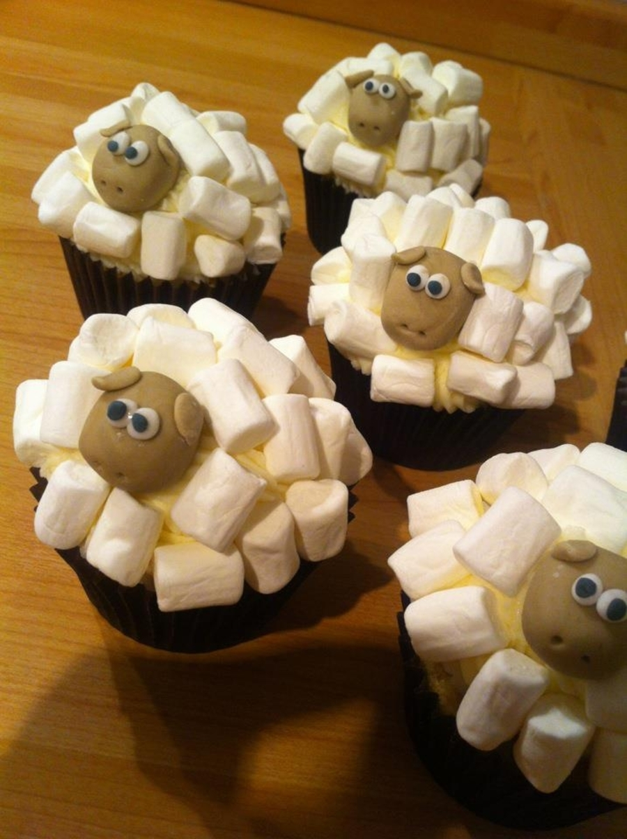 Sheep Cupcakes on Cake Central