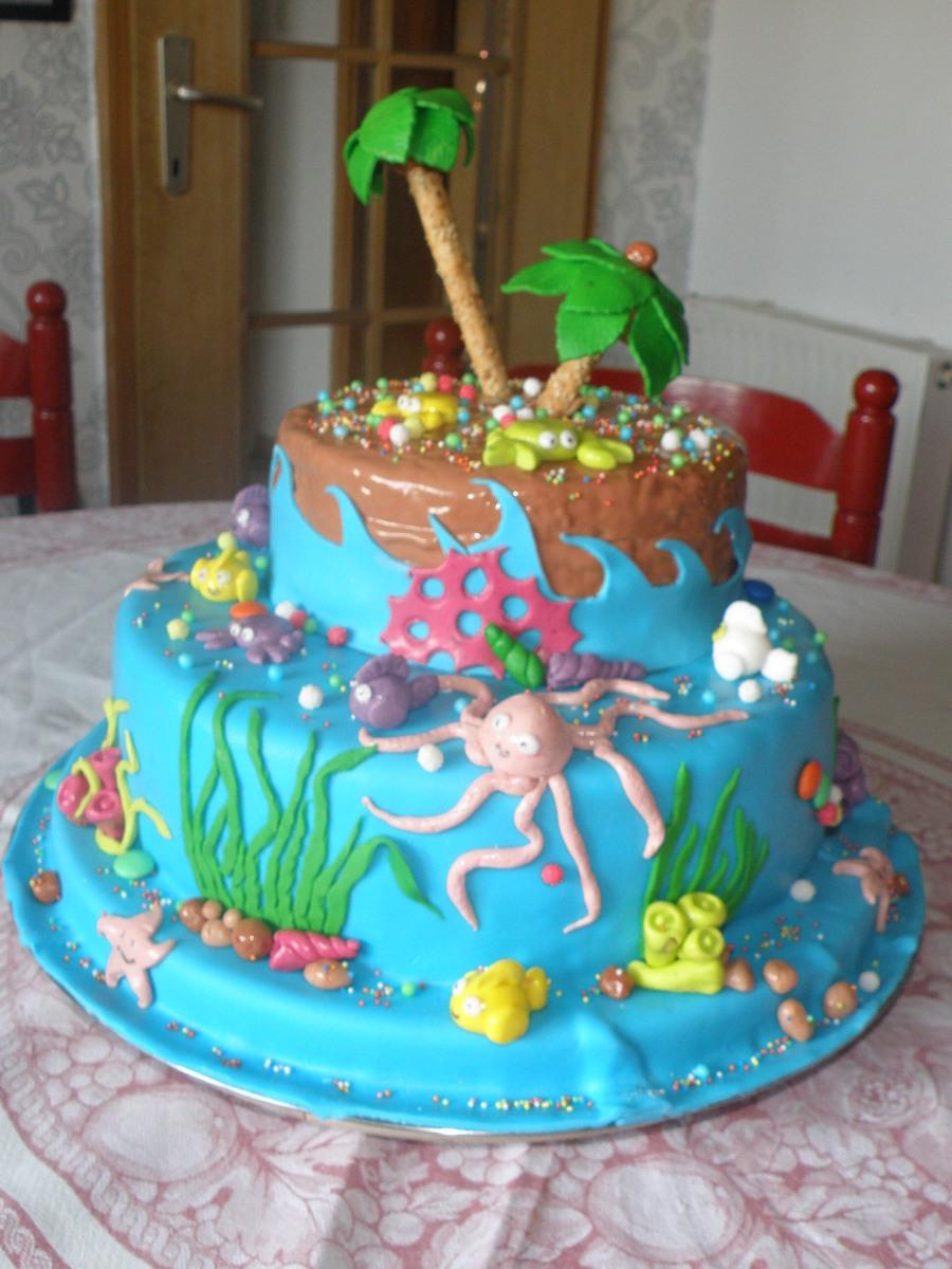 Sea Life Cake Cakecentral Com