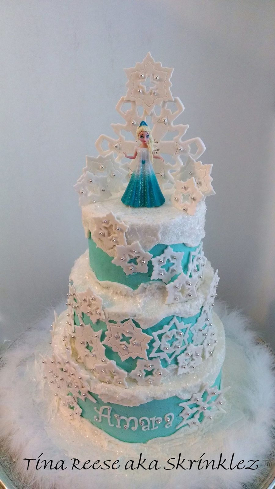 Disney's Frozen on Cake Central