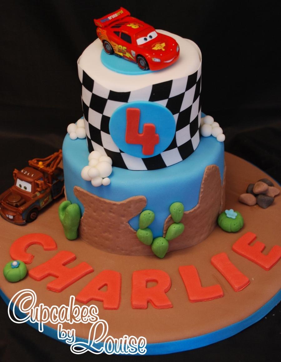 Disney Cars Birthday Cake CakeCentralcom