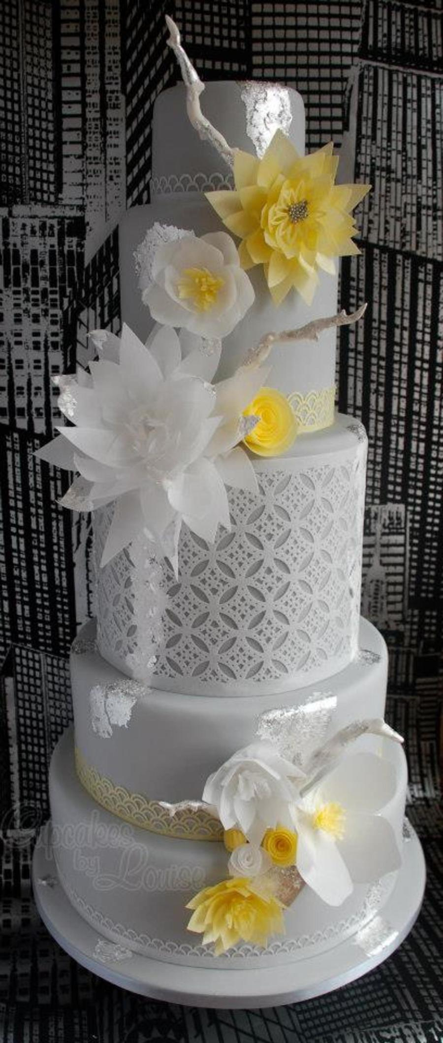 award winning wedding cake recipe contemporary gold award winning wedding cake cakecentral 10964