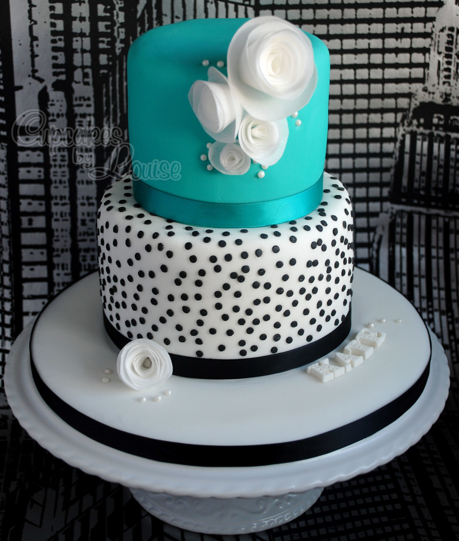 Birthday Cake Inspired By The London Designer, Lisa Stickley on Cake Central