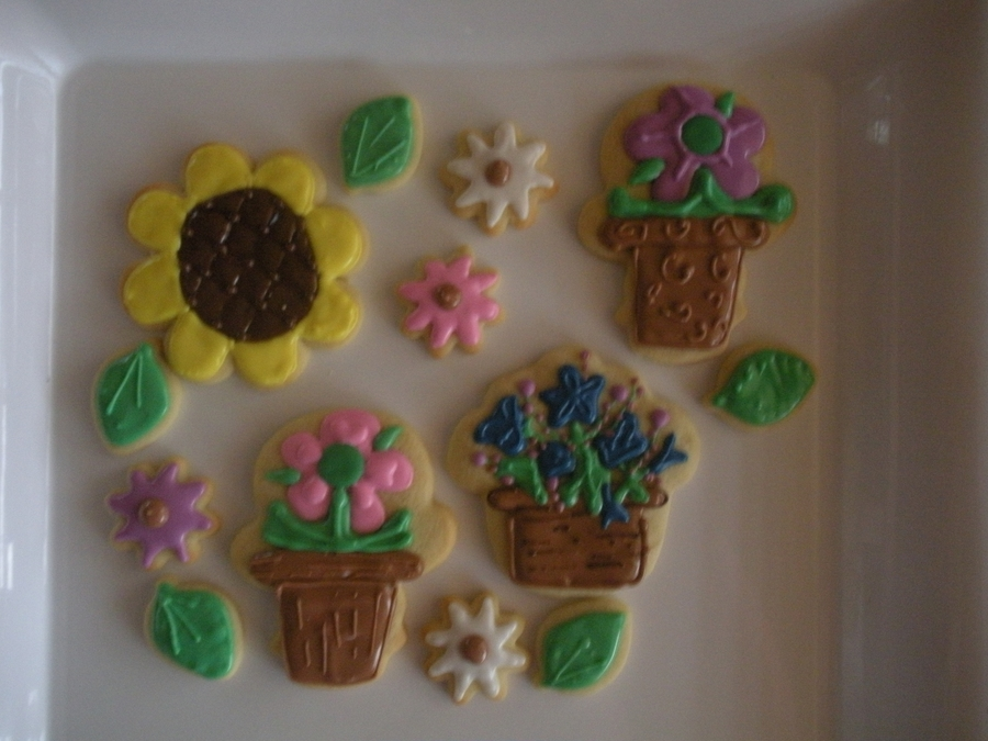 Flowers For Spring on Cake Central
