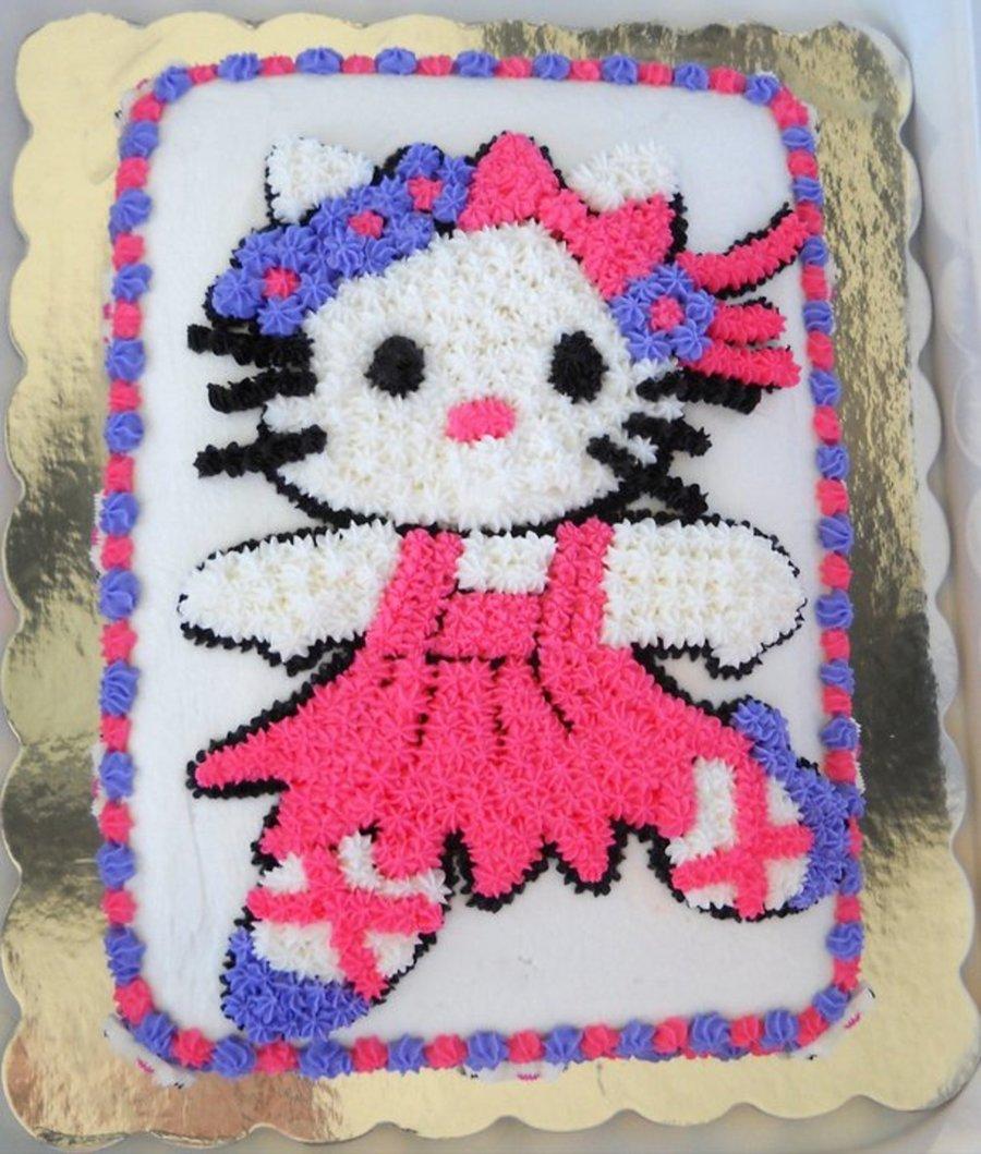 Hello Kitty Ballerina Cakecentral Com