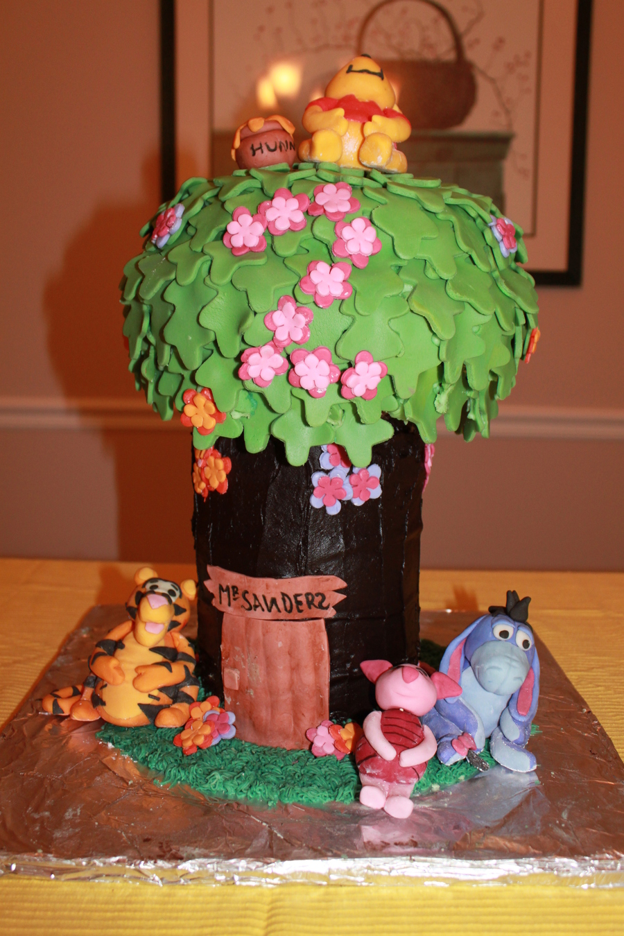 Winnie The Pooh Tree House Cakecentral Com