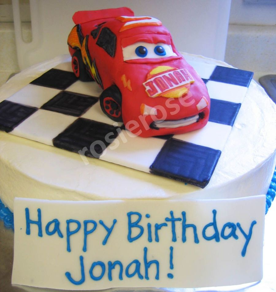 Astounding Cars Birthday Cake Cakecentral Com Birthday Cards Printable Inklcafe Filternl