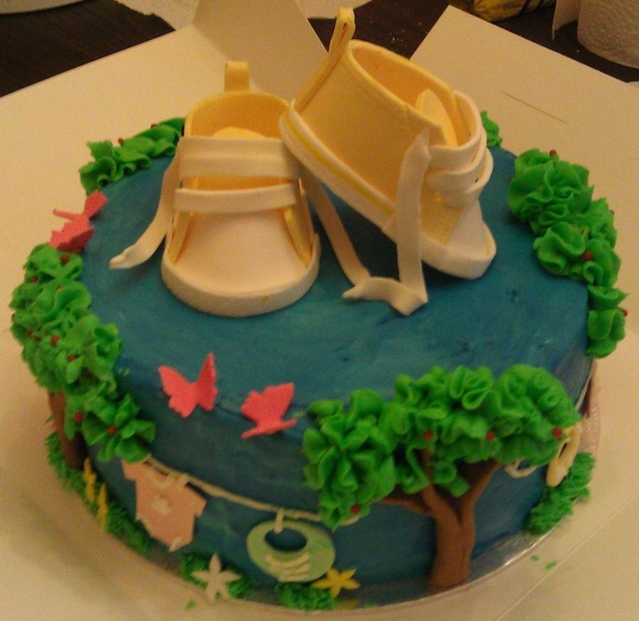 3ac902415bb Baby Shower Cake - CakeCentral.com