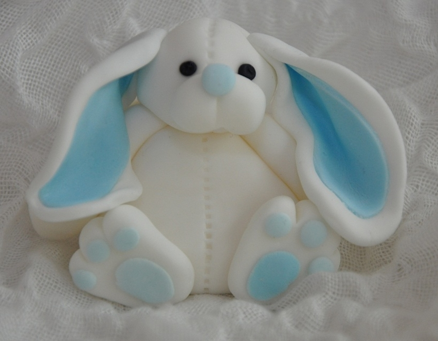 Bunny Rabbit Cake Topper on Cake Central