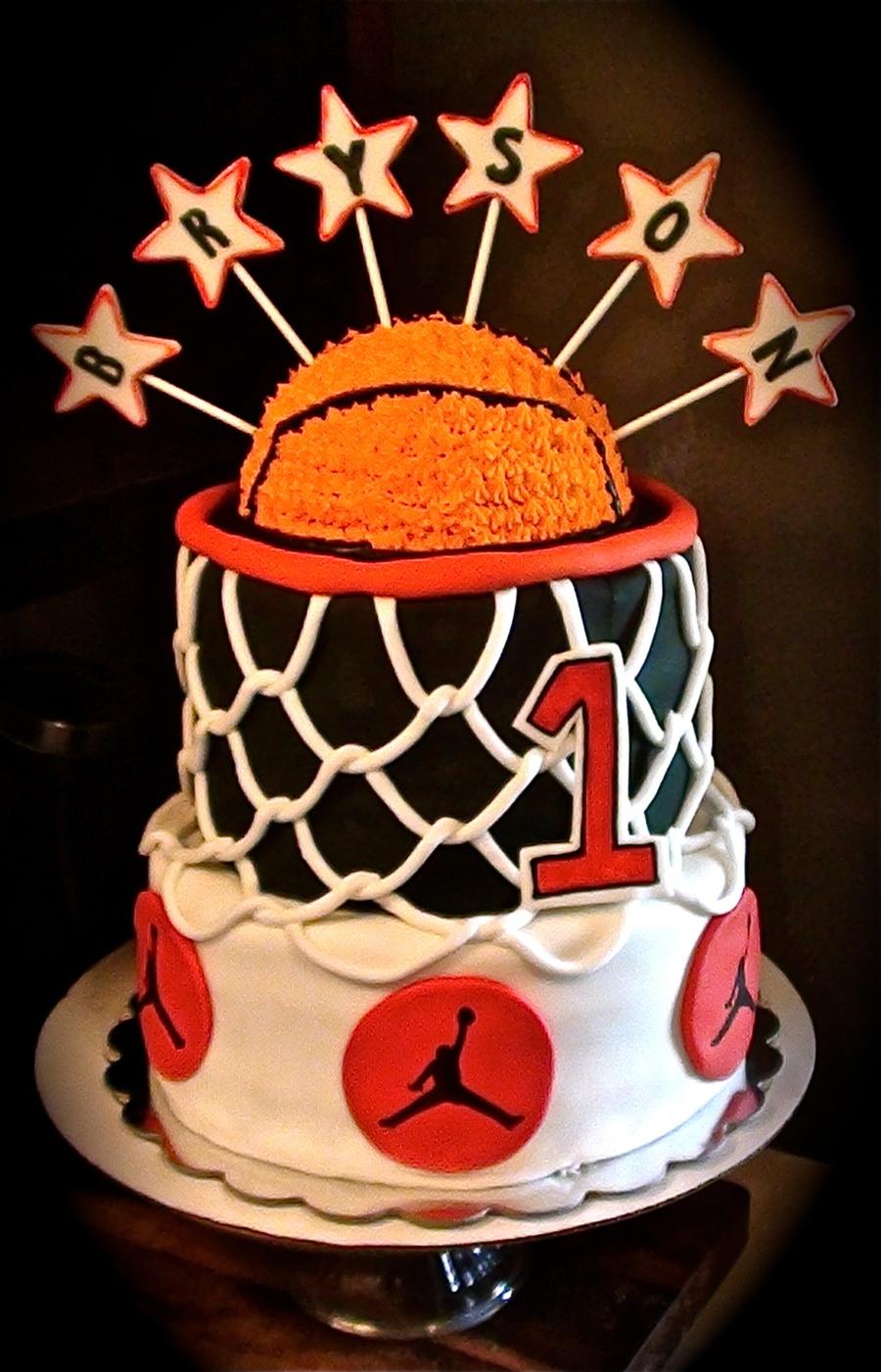 Uk Basketball Cake Ideas
