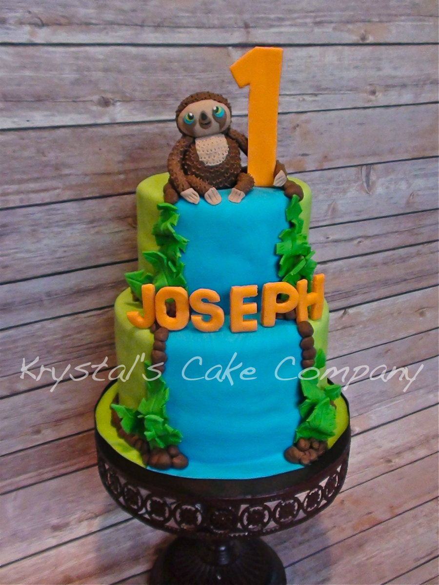 Croods Belt The Sloth Cakecentral Com