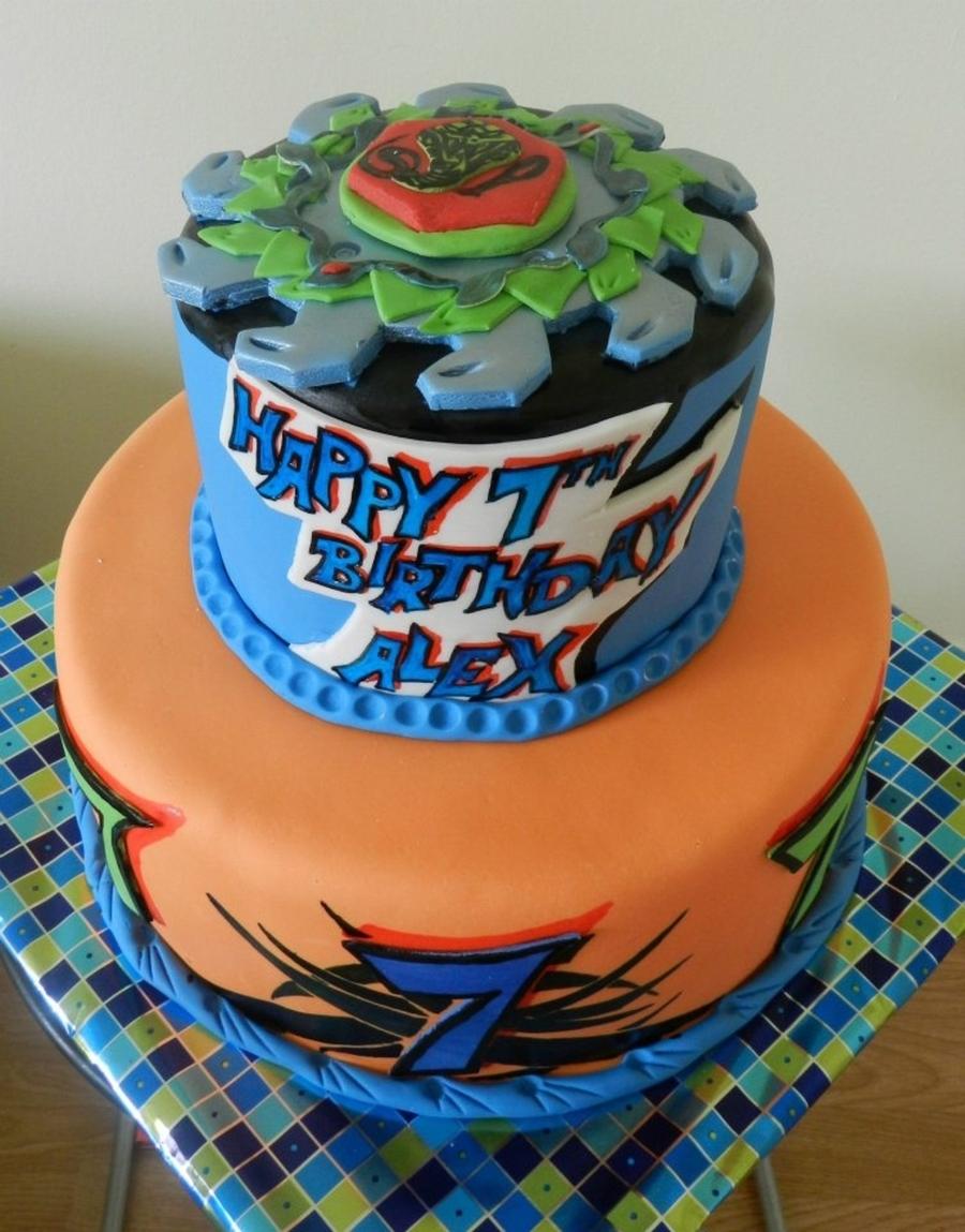 Beyblade Cake Cakecentral Com