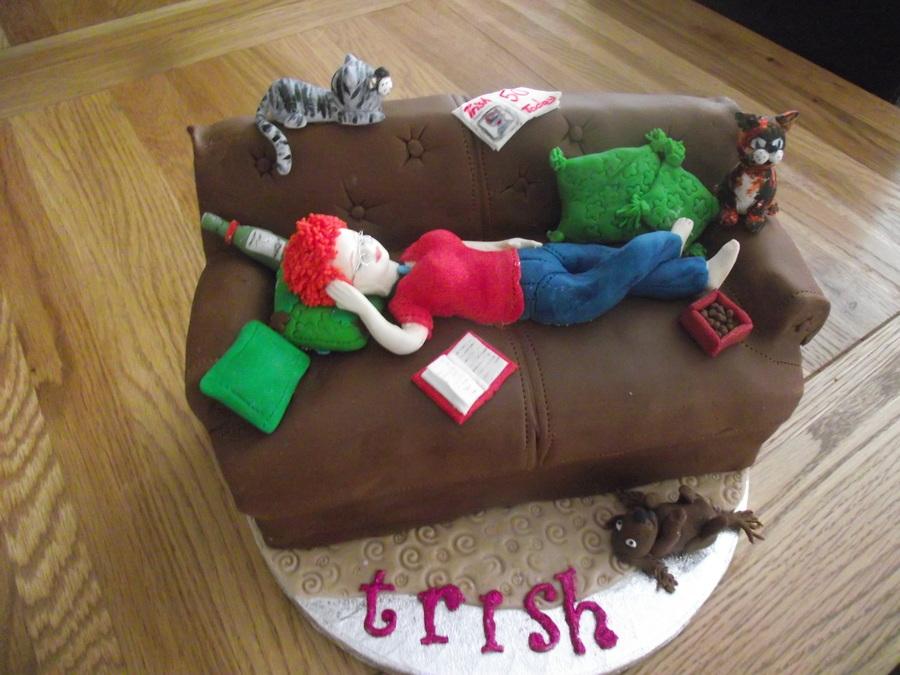 Another Sofa Cake