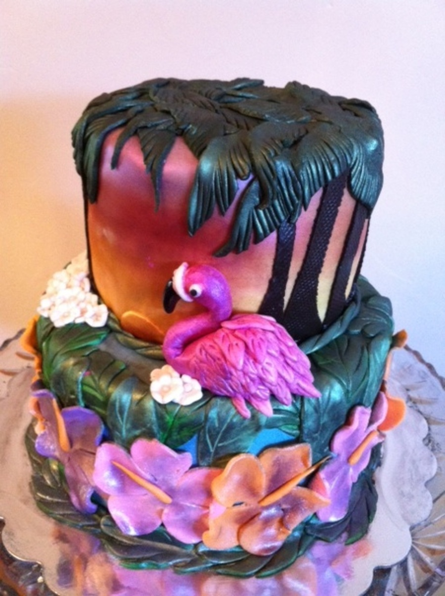 Tropical Dreaming on Cake Central