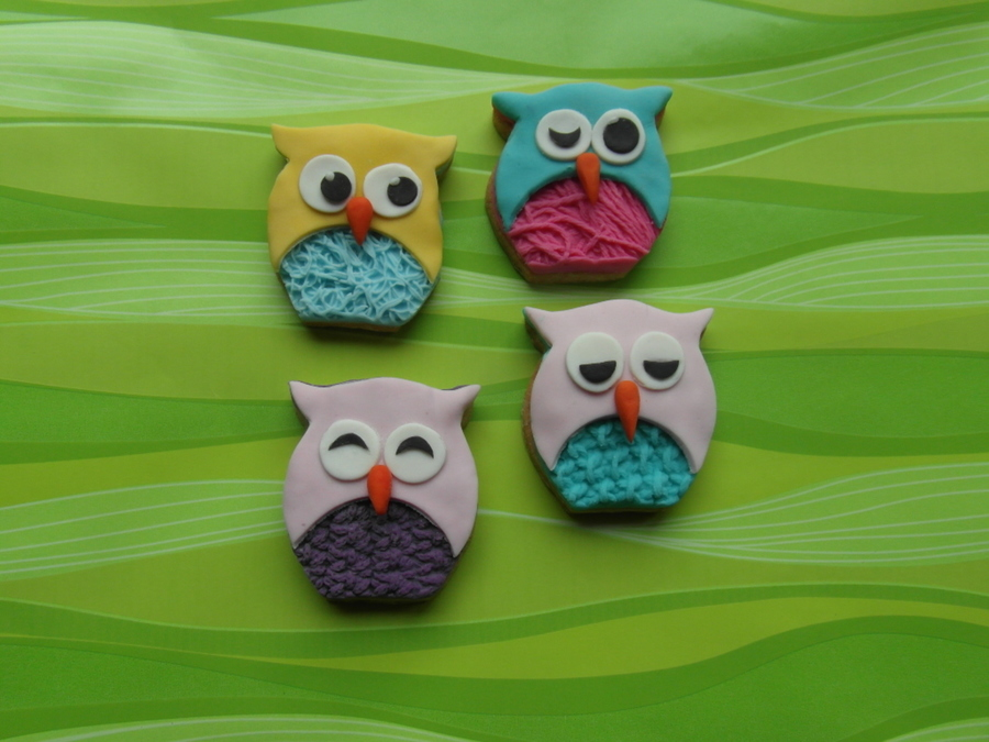 Owls-Carla's Taartjes  on Cake Central