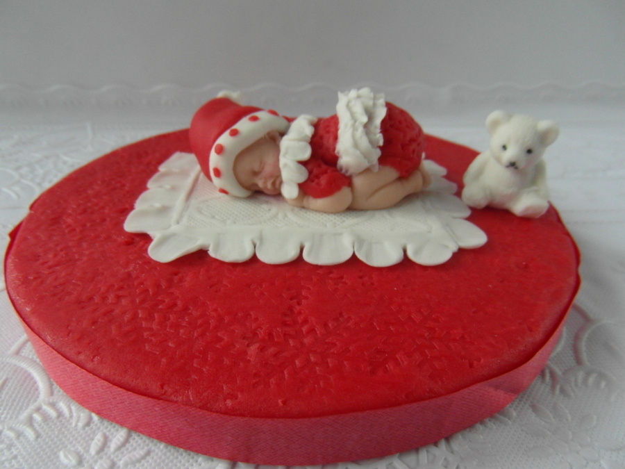 Santas Baby  on Cake Central