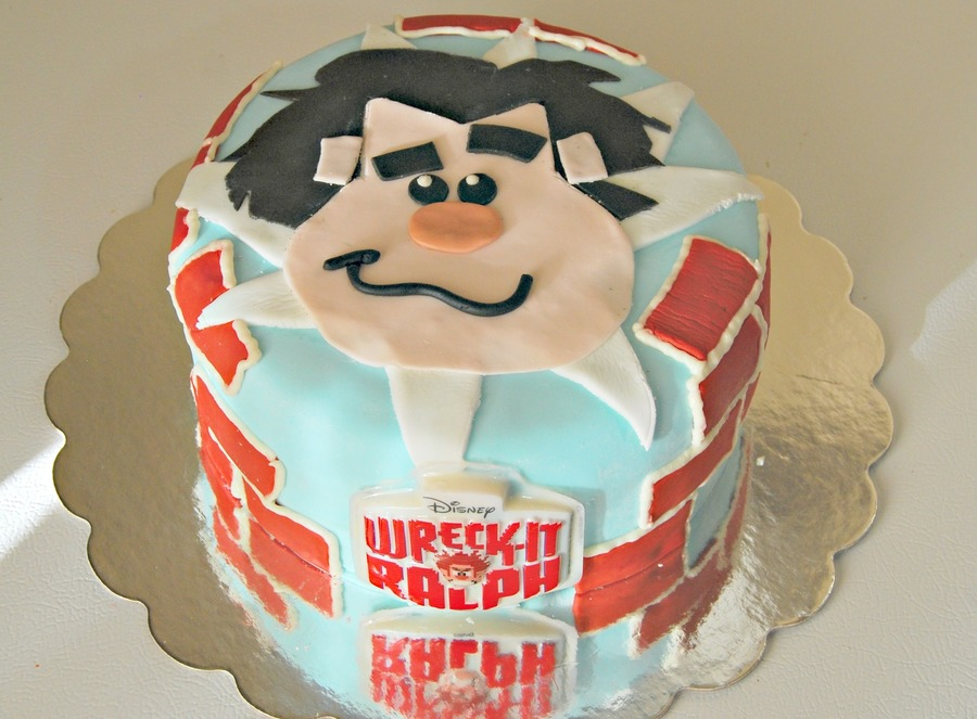 Wreck It Ralph Cake For 5 Year Old Birthday on Cake Central