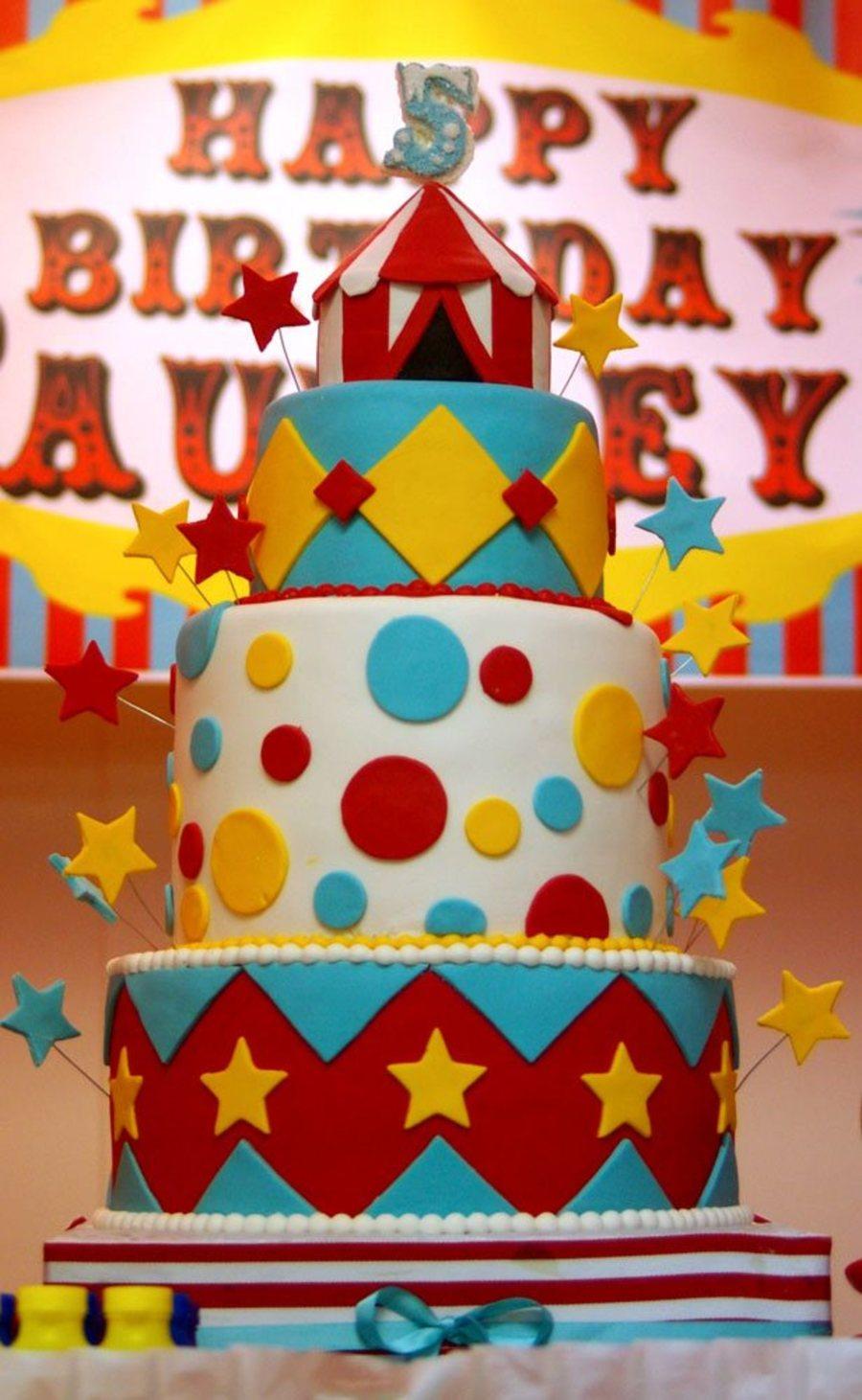Carnival Theme Cake CakeCentralcom
