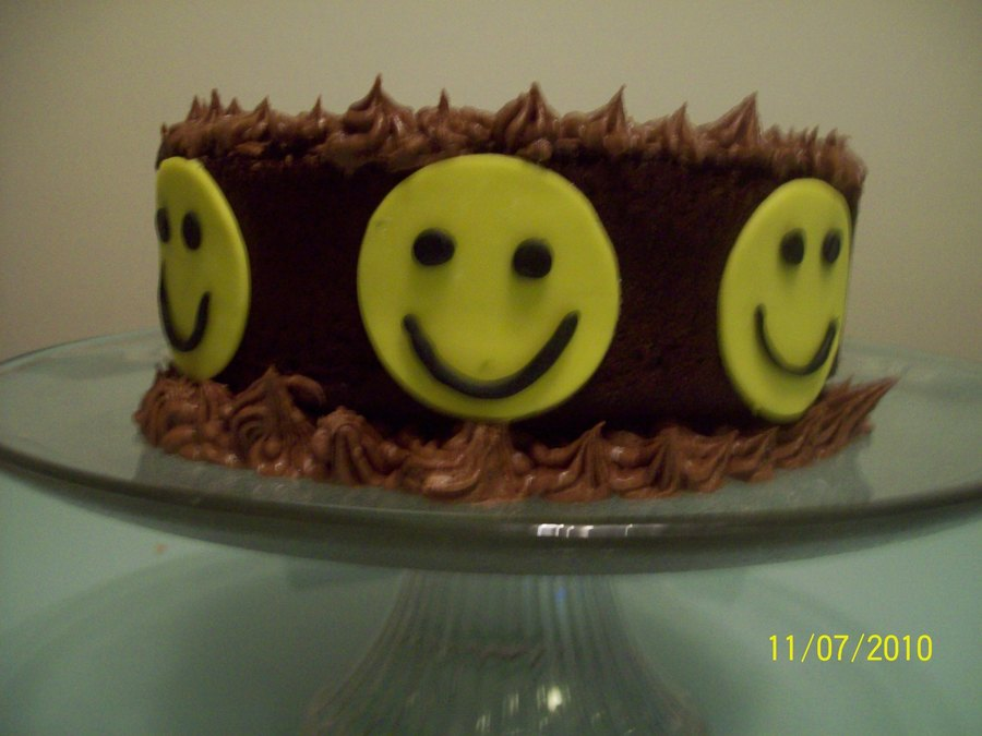 Happy Face on Cake Central