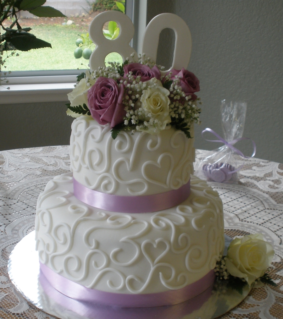 Eightieth Birthday Cake Ideas