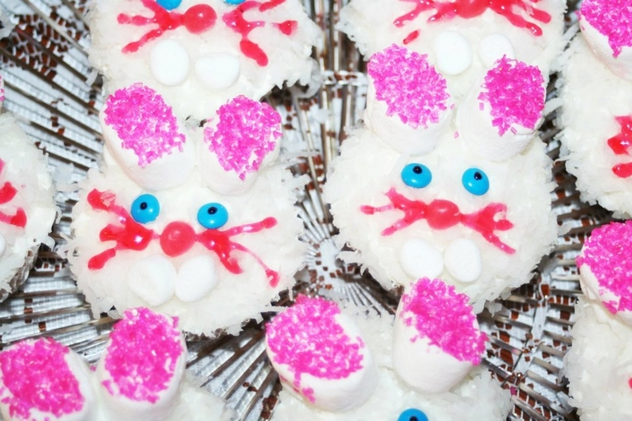 Bunny Cupcakes on Cake Central