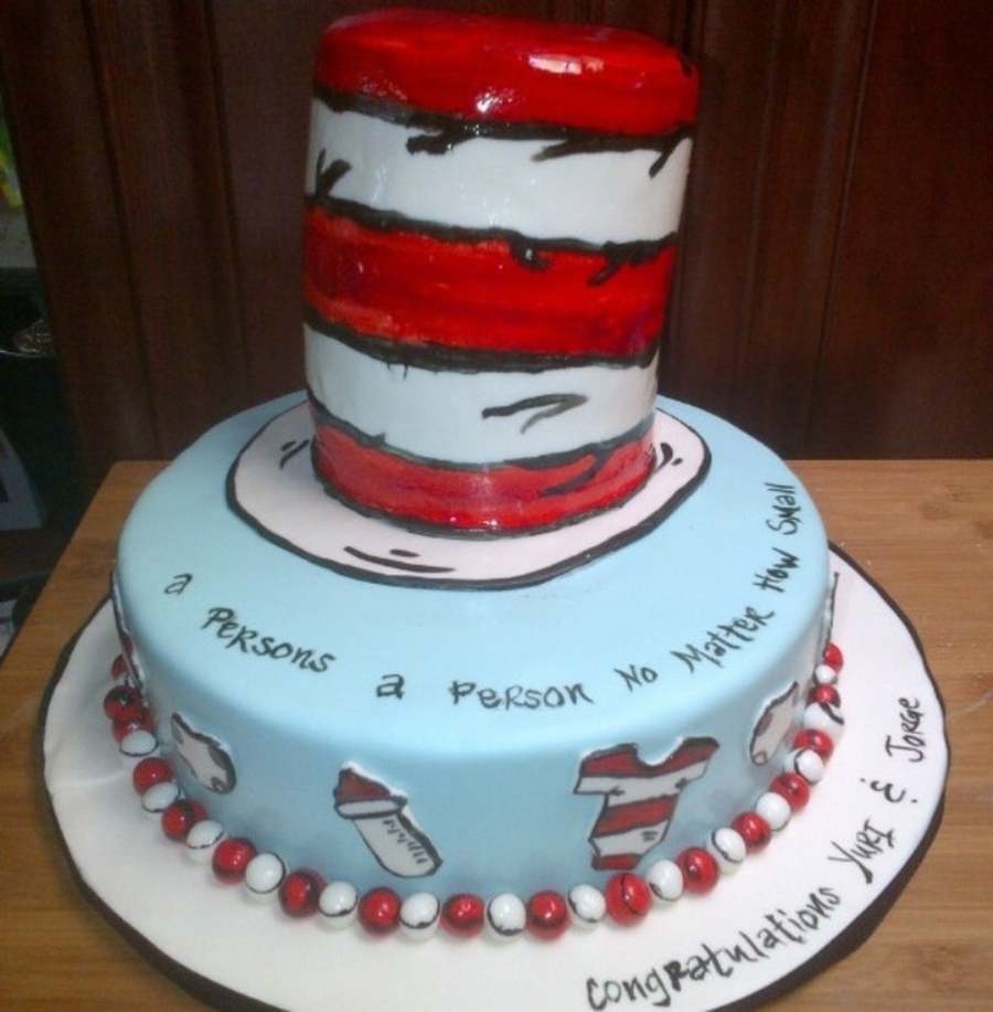 Dr Seuss Themed Birthday Cakes