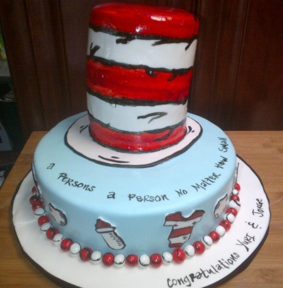 Cat In The Hat Birthday Cake Recipe