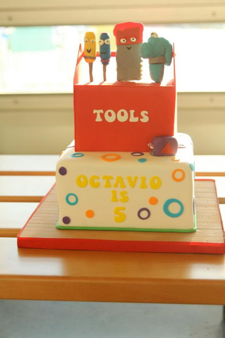 Handy Many Tools & Tool Box Cake on Cake Central