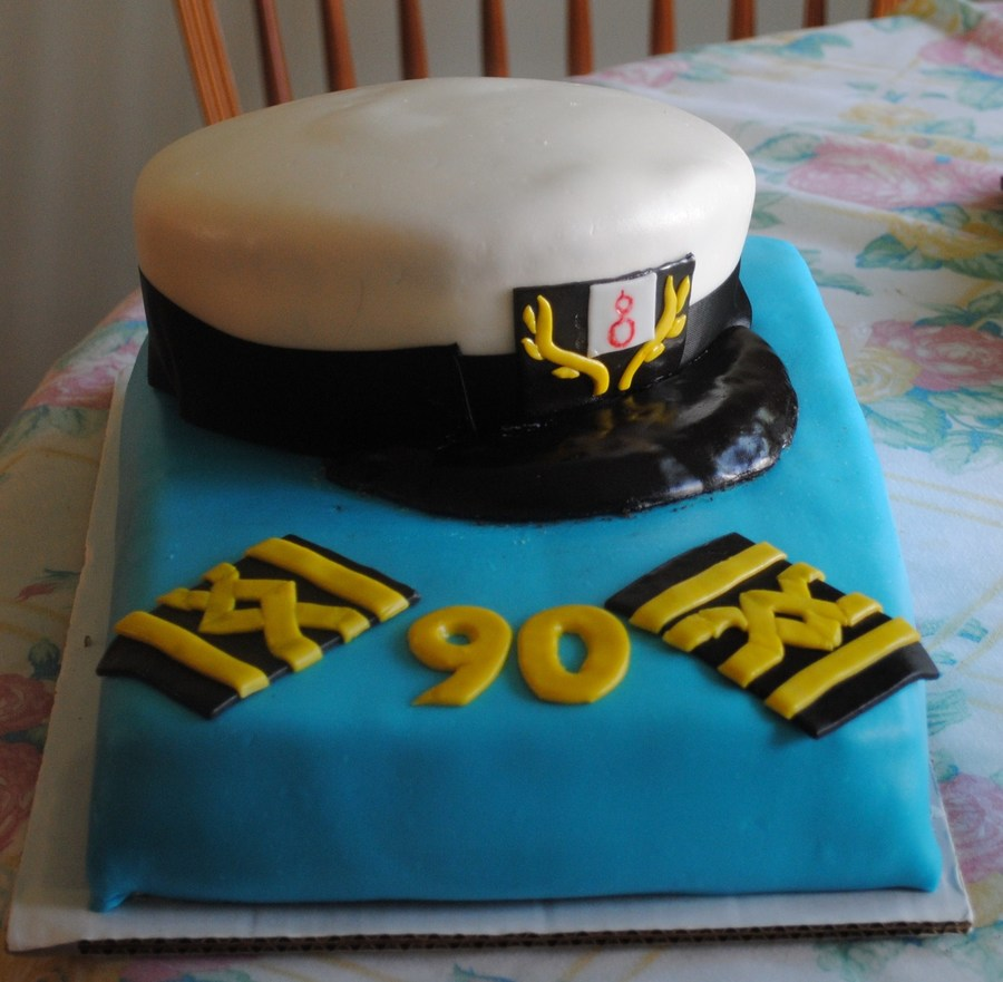 Captain's Hat Cake on Cake Central