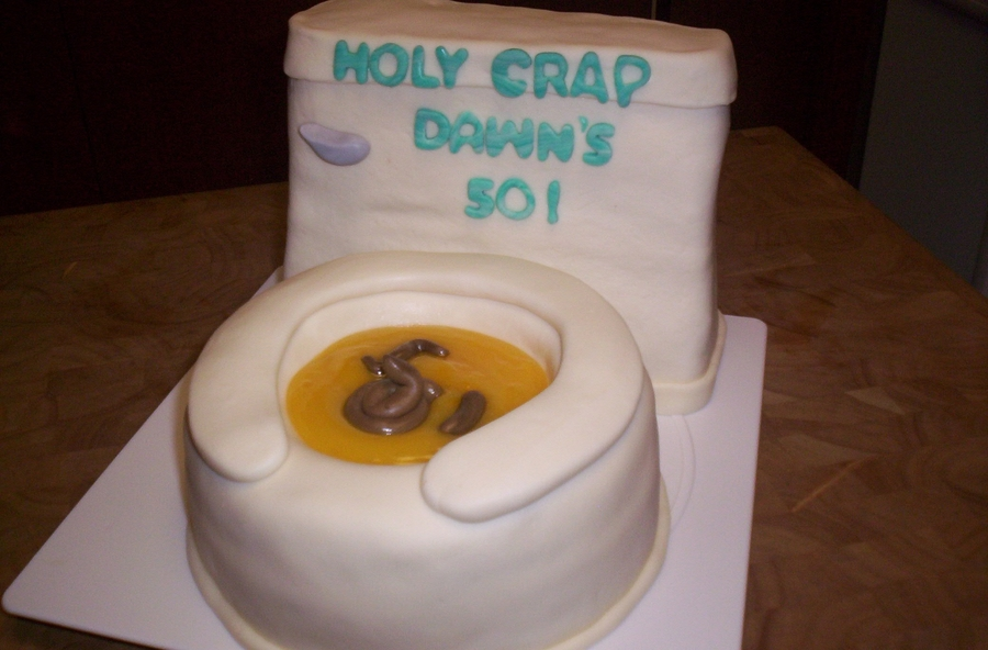Funny Toilet Cake Images : Fondant Toilet Cake - CakeCentral.com