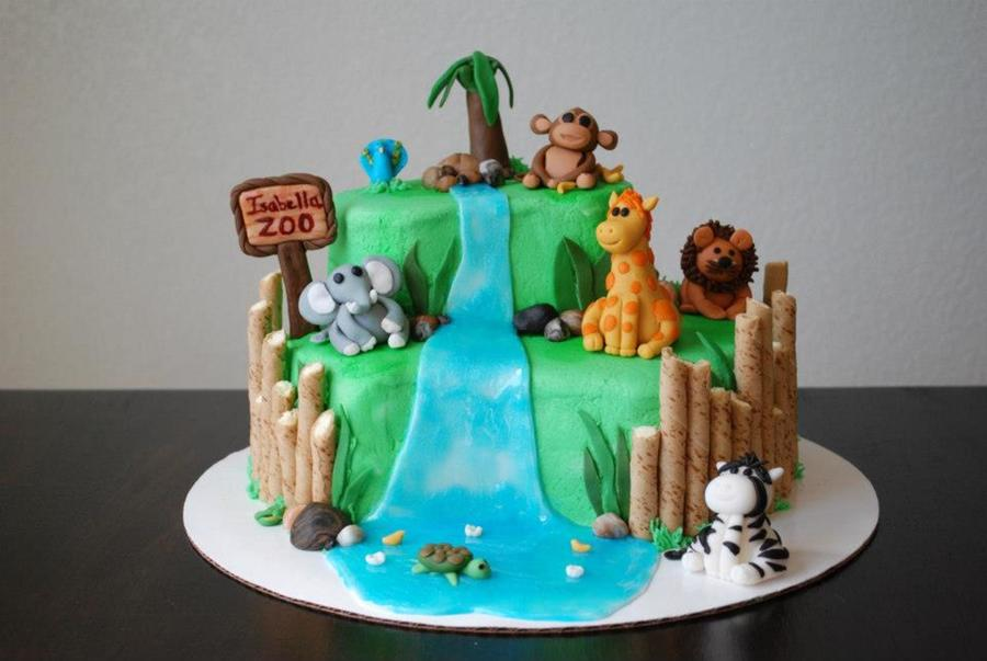 Zoo Cake Cakecentral