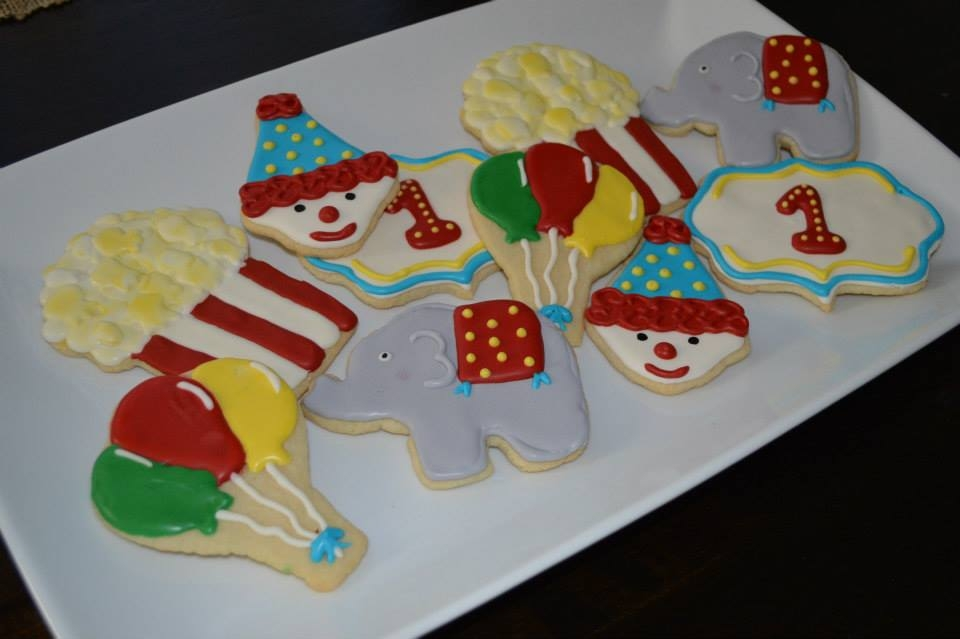 Circus Cookies My First Time Making Cookies on Cake Central