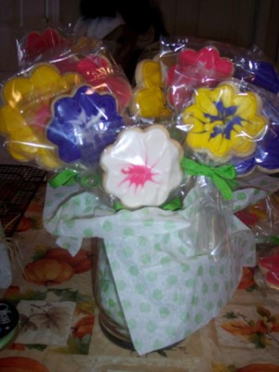 Flower Bouquet Cookies - CakeCentral.com